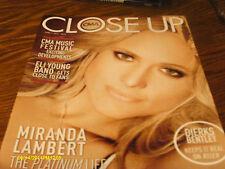 Miranda Lambert Covers The CMA Close Up Trade Magazine 2014 Dierks Bentley