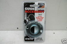 TREND GB30/A STEEL ROUTER GUIDE BUSH 30MM WITH 10MM SPIGOT IDEAL FOR LOCK/JIG/B