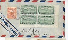 Guatemala - FDC 1944 - Einweihung des Nationalpalastes