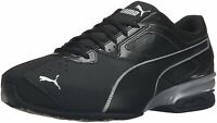 Puma Mens tazom 6 fm Low Top Lace Up Running Sneaker, Black, Size 14.0 noDg