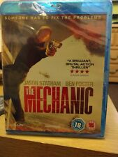 The Mechanic (Blu-ray, 2011) Brand New Sealed