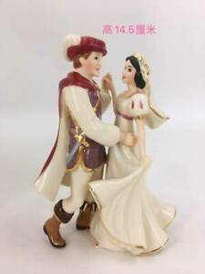 """Lenox Snow White and Prince Dancing at Wedding Porcelain Figurine 6"""""""