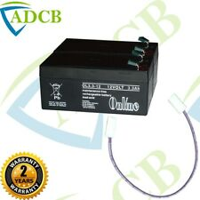 24V 6.6Ah Battery Pack LeadAcid Rechargeable Replacement Fire Burglar Alarm Etc