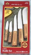 OLD HICKORY 5 Pc kitchen Knife Set  Camping Hunting