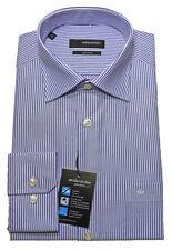 Seidensticker Hemd blau weiß gestreift bügelfrei SP-51 Modern Fit KW 39 - 48