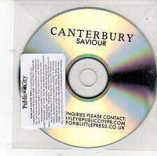 (DV179) Canterbury, Saviour - DJ CD