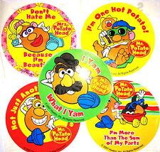 15 Mr. Potato Head Stickers Party Favors Teacher Supply