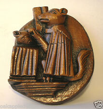 Fox Medieval Church Carving unique collectable Cathedral Vicar Gift Pulpit Pew