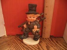 "Vintage Goebel~ #Kf40 ""Chimney Sweep"" 5.5"" tall Figurine Germany Crazing On Base"