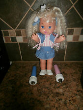 Lil Miss Dress Up doll, Mattel, 1988, color changing doll with Wands