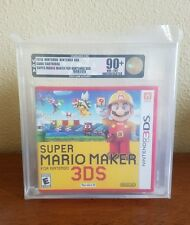 Super Mario Maker - VGA U90+ Gold - Nintendo 3DS, first print mint!