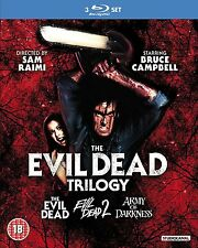 Evil Dead Trilogy Collection  Movies 1 2 3 New Blu Ray Box Set Boxset