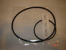 Super 8, ELMO ST-100  Projector Belts,    2 Belt Set.  New Belts