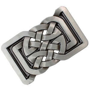 Celtic Pattern Belt Buckle Rectangle Metal Classic for jeans Leather Belt Casual