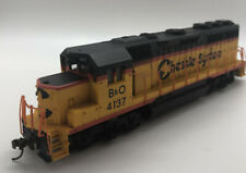 BACHMANN HO DCC EQUIPPED CHESSIE SYSTEM B&O 60309 EMD GP40 TESTED RUNS