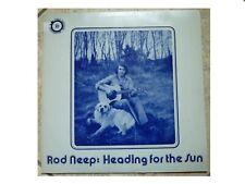 ROD NEEP * HEADING FOR THE SUN * RARE SIGNED LP FOLK HERITAGE FHR052 PLAYS GREAT
