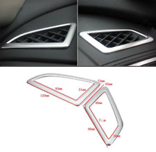 For HONDA CIVIC 2016 Chrome Dashboard Air Vent Trim Cover Bezel Outlet Frame