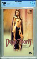 Dejah Thoris #1 - Cosplay Variant - CBCS 9.8!