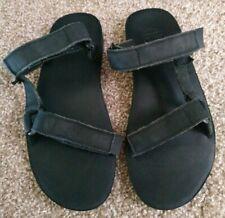Teva Men's 10 Universal Slide Leather Sandal Black