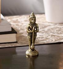 Hindu God Hanuman Brass Statue Hinduism Praying Pooja Idol Yoga Garuda New
