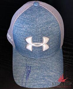 Jordan Spieth signed Under Armor Hat JSA COA Masters US Open Winner Z273
