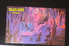 Vintage Calico Mine Caverns Knott's Berry Farm Amusement Park Postcard Card