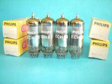 una valvola ECH83 = ECH81 Philips Miniwatt nuova. Tube Lampe Röhre. Radio NOS
