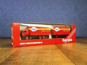 "Herpa Miniaturmodelle HO 142472 Truck & Trailer ""GAGGLI"""