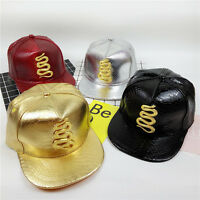 NEW Mens Womens Snapback Hat Metal Snake Baseball Caps adjustable Hip Hop Hats