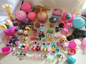 L.O.L. Surprise OMG large Lot Dolls, Heads, Cups + More!