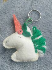 Hand Made Unique Unicorn Keyring / Bag Charm