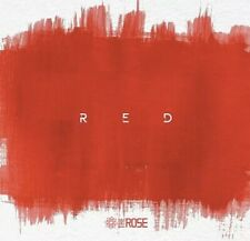 THE ROSE [RED] KPOP ALBUM NEW SEALED -CD+BOOK+2P CARD+16P INNER CARD+1P POSTER