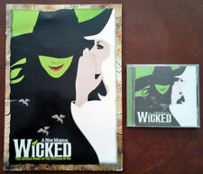 WICKED / UNTOLD STORY OF WITCHES OF OZ - GERSHWIN THEATRE - PROGRAM + CD