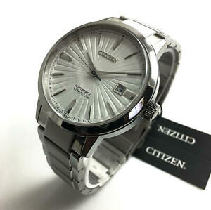 Men's Citizen Automatic Titanium Sapphire Watch NJ2180-89A