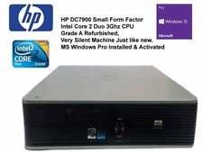HP Compaq DC7900 SFF Intel Core 2 Duo 3.0 Ghz 4GB RAM 80GB HDD Windows 10 Pro