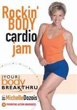 YOUR BODY BREAKTHRU ROCKIN' BODY CARDIO JAM DVD NEW MICHELLE DOZOIS WORKOUT