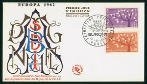 Mayfairstamps France 1962 Europa Trees Pheuldin First Day Cover wwp12511