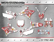 Yamaha YZ 125 250 2002 up to 2014 UFO RESTYLED decals graphics kit Moto StyleMX