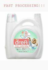 96 Loads Dreft Stage 2 Active Baby HE Detergent 150 OZ