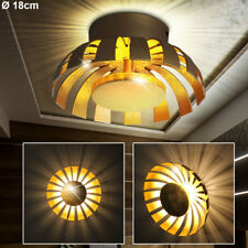 Luxury LED Wall Light Sleep Guest Room Hall Ceilings Effect Spotlight Gold