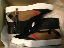 Authentic Burberry Children's Shoes 31/ US Size 13 $225 Value