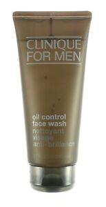 NEW CLINIQUE FOR MEN OIL CONTROL FACE WASH FULL SIZE 6.7 FL OZ / 200 ML