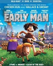 EARLY MAN(BLU-RAY+DVD+DIGITAL HD)W/SLIPCOVER NEW UNOPENED
