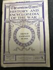 TIMES HISTORY OF THE WAR WWI MAGAZINE No 257 French Campaign In 1918 22July 1919