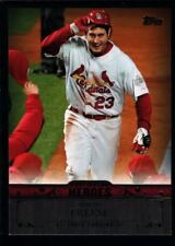 DAVID FREESE CARDINALS POSTSEASON HEROES GLOSSY MINT SP 2013 TOPPS UPDATE #1 GEM