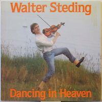 WALTER STEDING Dancing in Heaven LP Rock/New Wave – Promo Copy