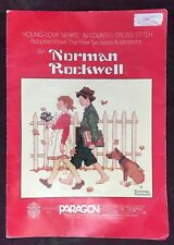 """Cross Stitch Designs - Norman Rockwell """"Young Love Series"""" by Gloria & Pat"""