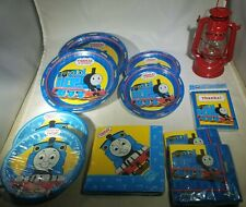 THOMAS THE TRAIN Party Supplies  - Plates, Napkins, Thank You Cards,  Lantern