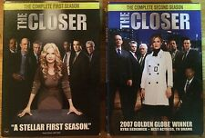 The Closer:The Complete Seasons 1 & 2 (DVDs)