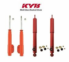 NEW Ford Mustang 87-93 Front and Rear Shock Absorber Kit KYB AGX 734013 743020